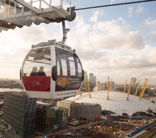 Londra Emirates Teleferik Hattı