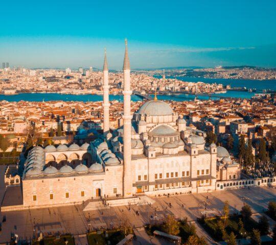 Fatih Camii ve Fatih Sultan Mehmet Türbesi