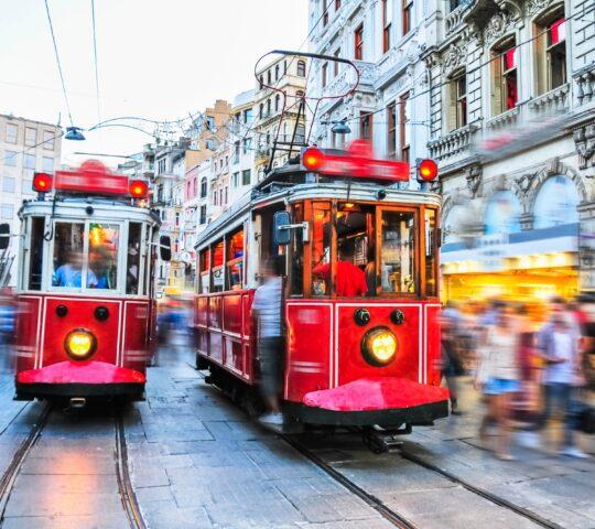 Taksim – Tünel Nostaljik Tramvayı (T2)