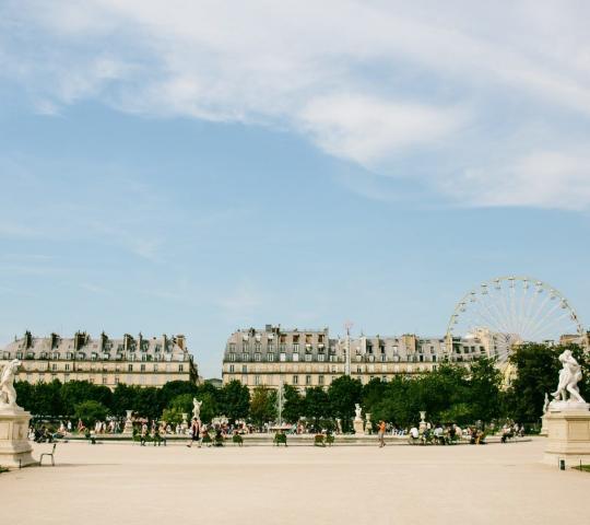 Tuileries Bahçesi