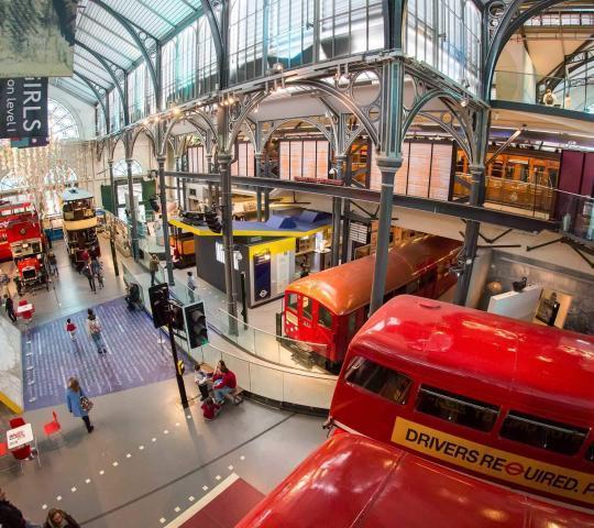 Londra Ulaşım Müzesi (London Transport Museum)