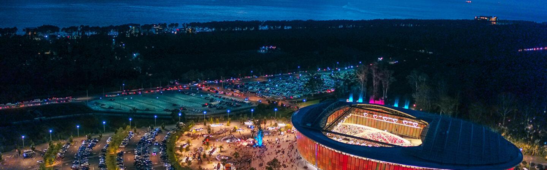 Batum Black Sea Arena'da konsere gitmek