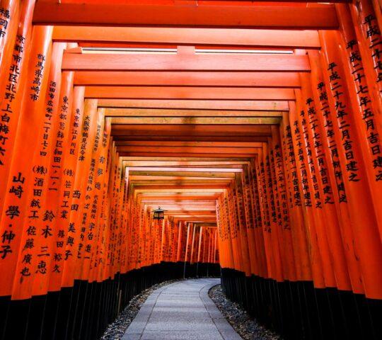 Fushimi-Inari-Taisha Şinto Tapınağı