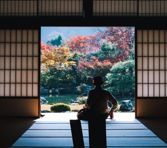 Tenryu-ji Budist Tapınağı