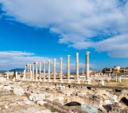 İzmir Smyrna Agorası Antik Kenti