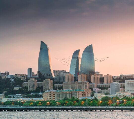 Flame Towers (Alev Kuleleri)