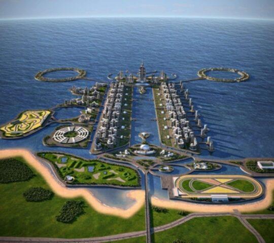 Hazar Adaları ve Azerbaycan Kulesi