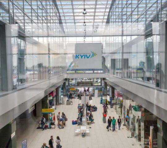 Kiev Zhuliany Igor Sikorsky Uluslararası Havalimanı (IEV)