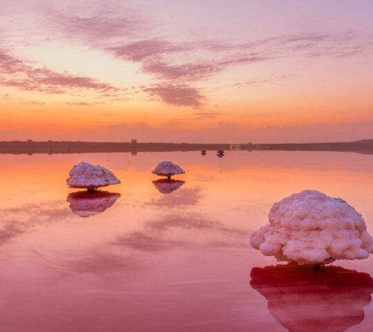 Masazir Tuz Gölü (Pembe Göl)
