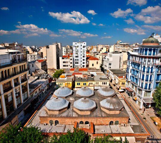 Tarihi Selanik Bedesteni (Bezesteni Market)